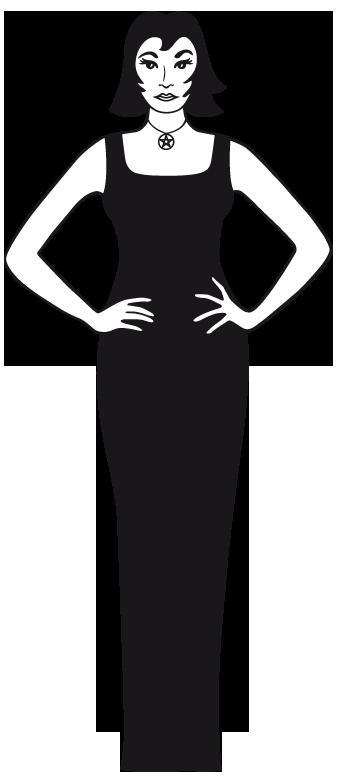 Les trois personnages de Soracha.fr - Bat, la sorcière