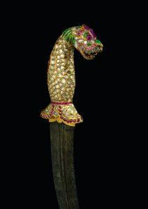 Dague-Inde-du-Sud-Tanjor-1790-1810