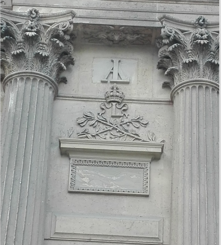 Chiffre Louis XIII et Anne d'Autriche