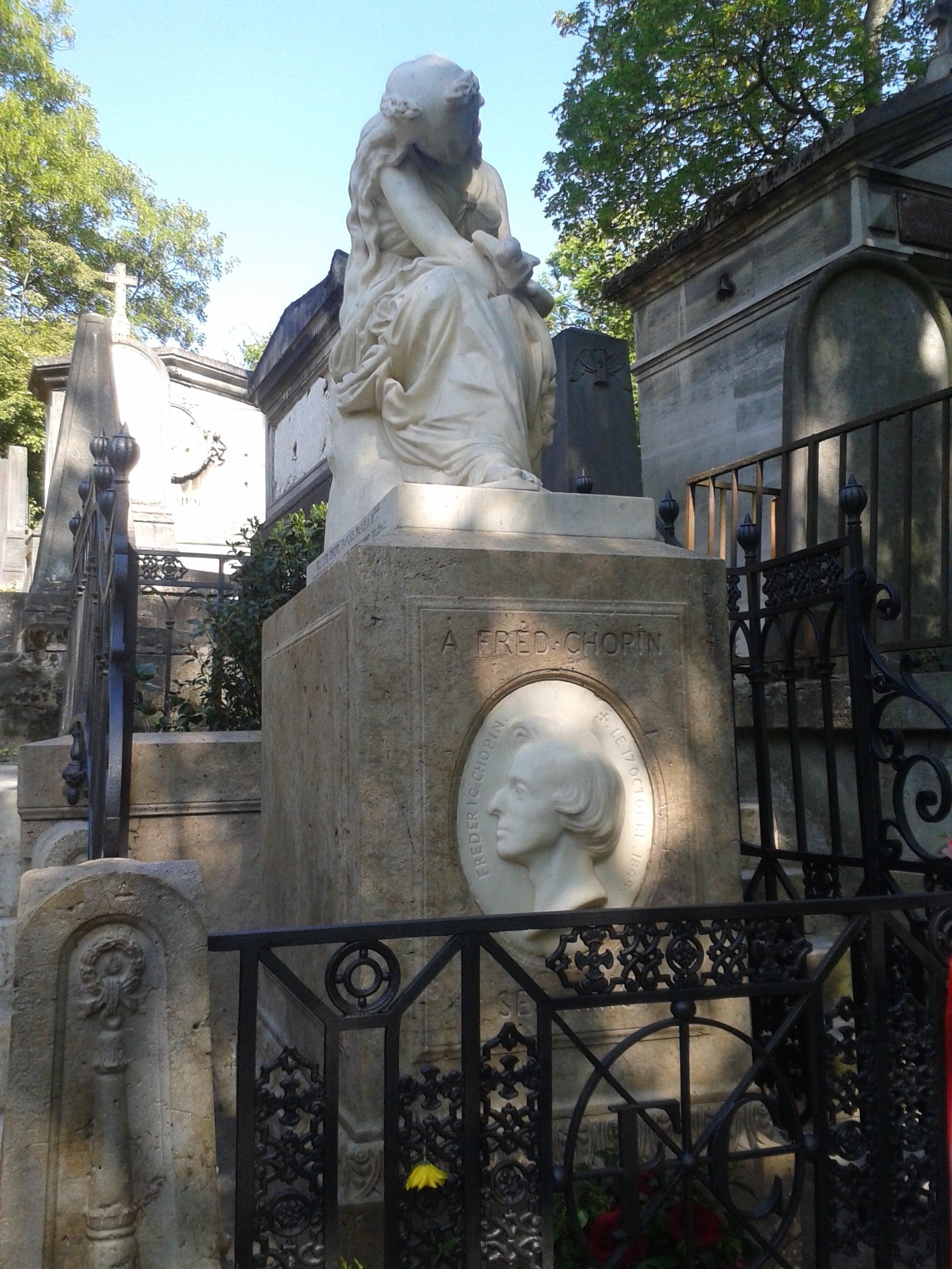 Tombe au Père Lachaise