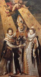 Le mariage de Louis XIII et d'Anne d'Autriche à Bordeaux le 25 novembre 1615