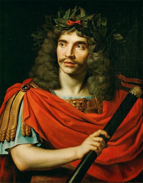 Nicolas Mignard. Portrait de Molière