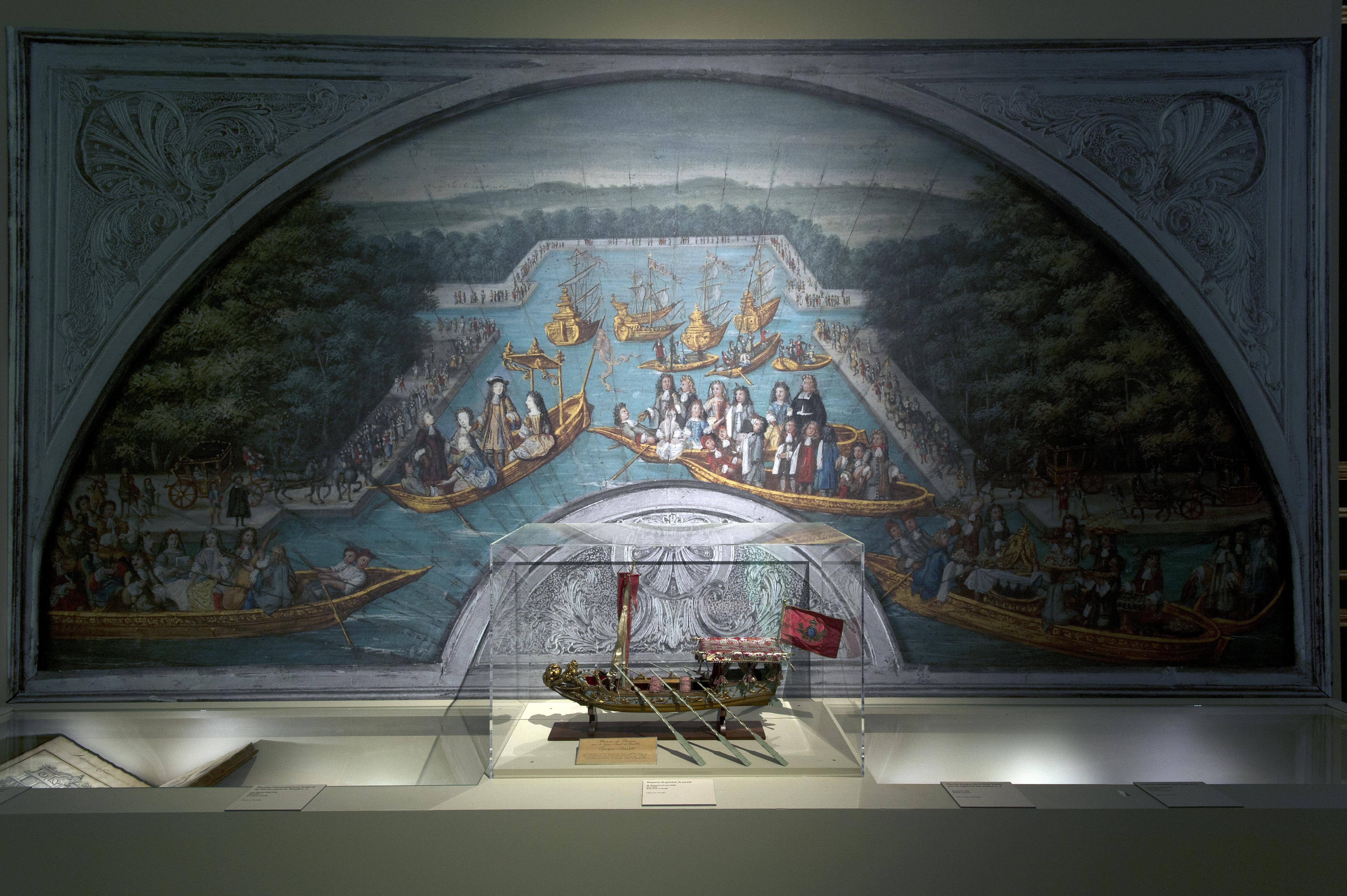 Vue de l'exposition Fêtes et divertissements à la cour_Versailles