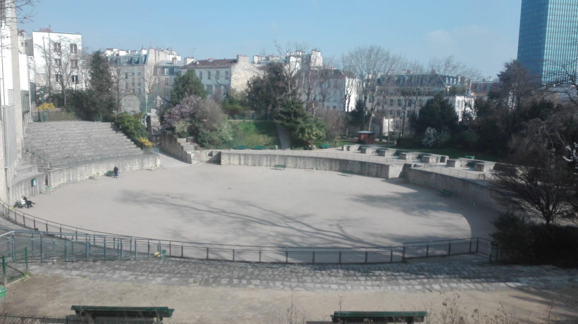 Square des Arènes de Lutèce
