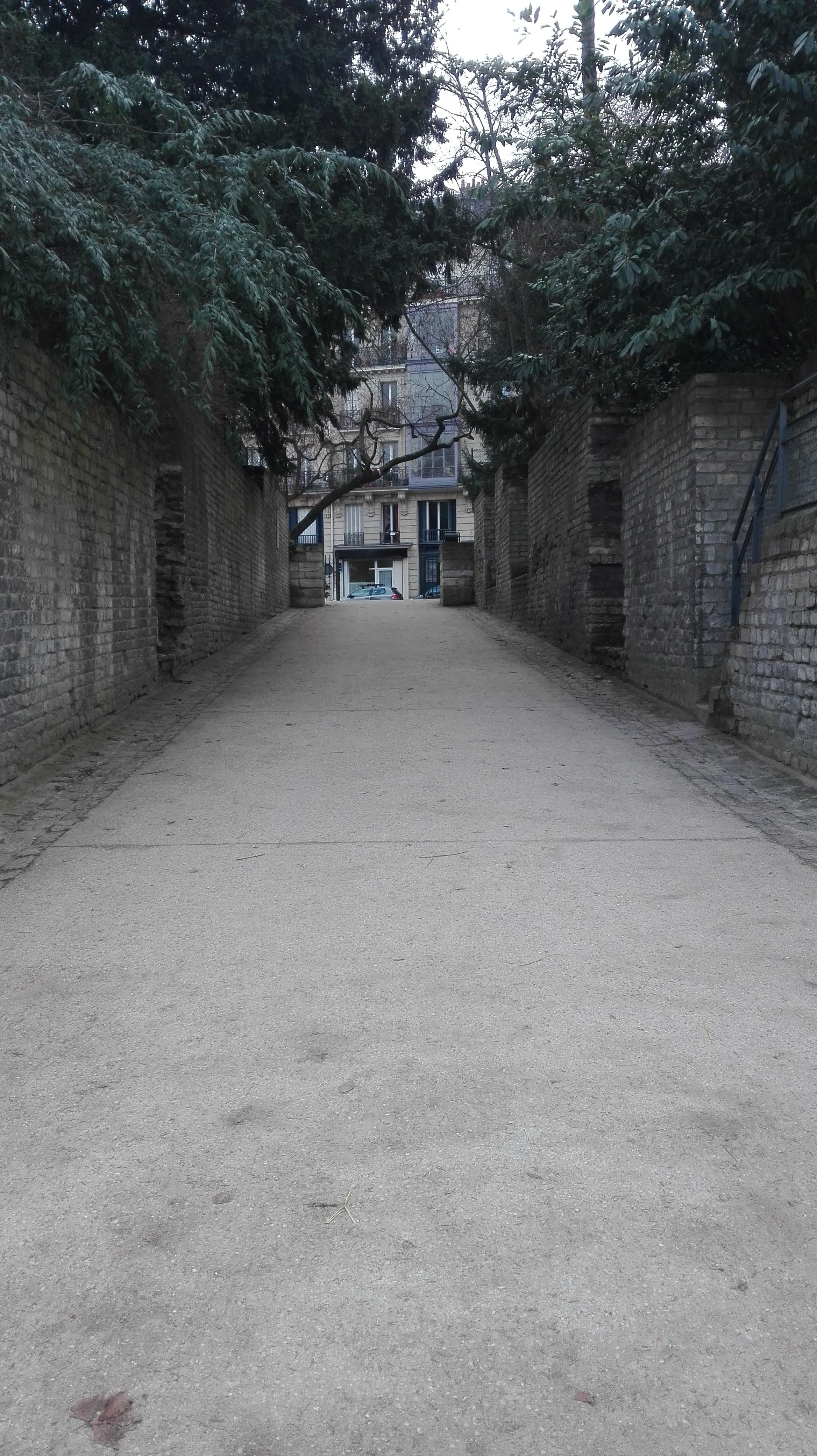 Photo galerie entrée des Arènes de Lutèce