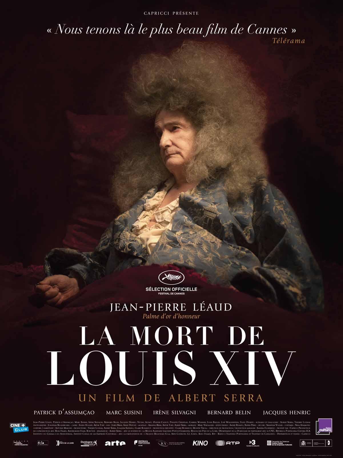 """Affiche du film """"La mort de Louis XIV"""""""