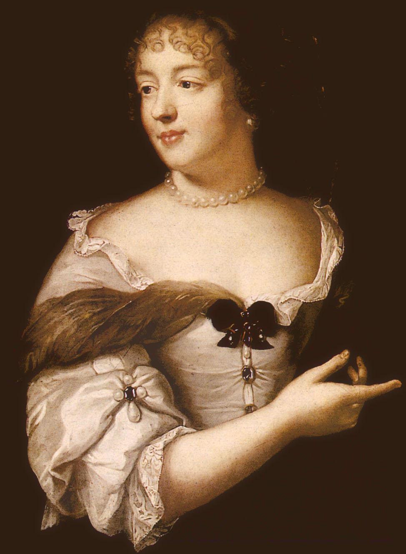 Portrait de la Marquise de Sévigné