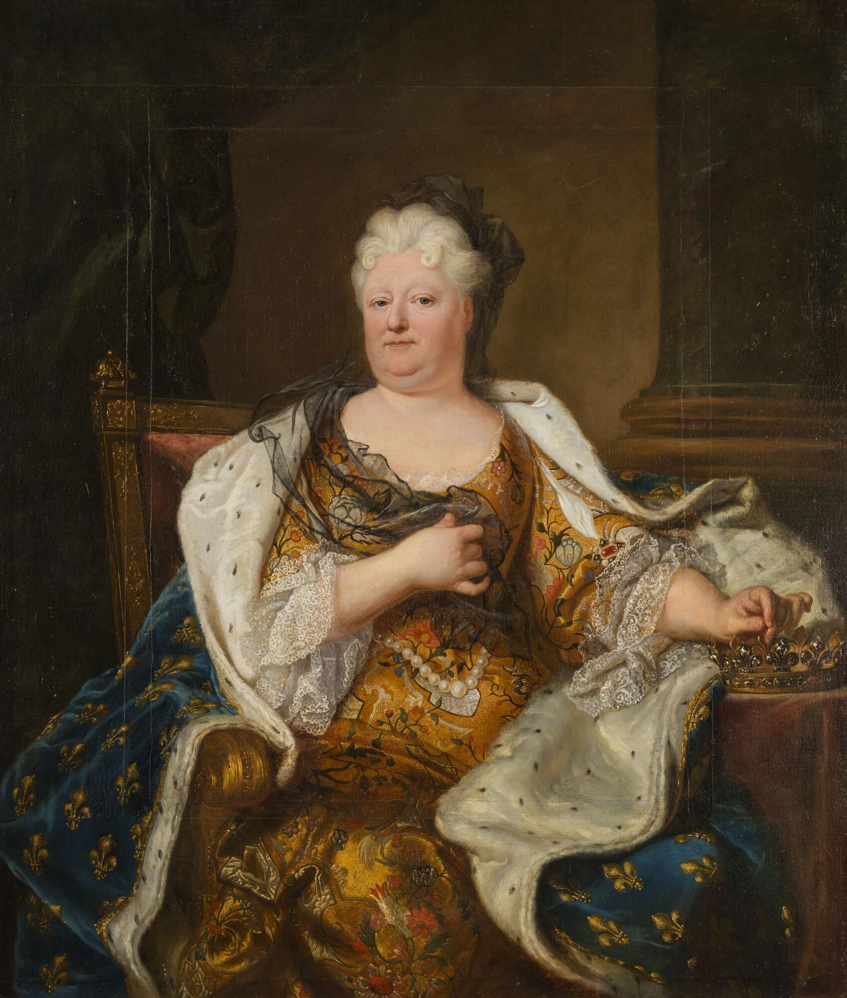Portrait de Charlotte-Elisabeth de Bavière