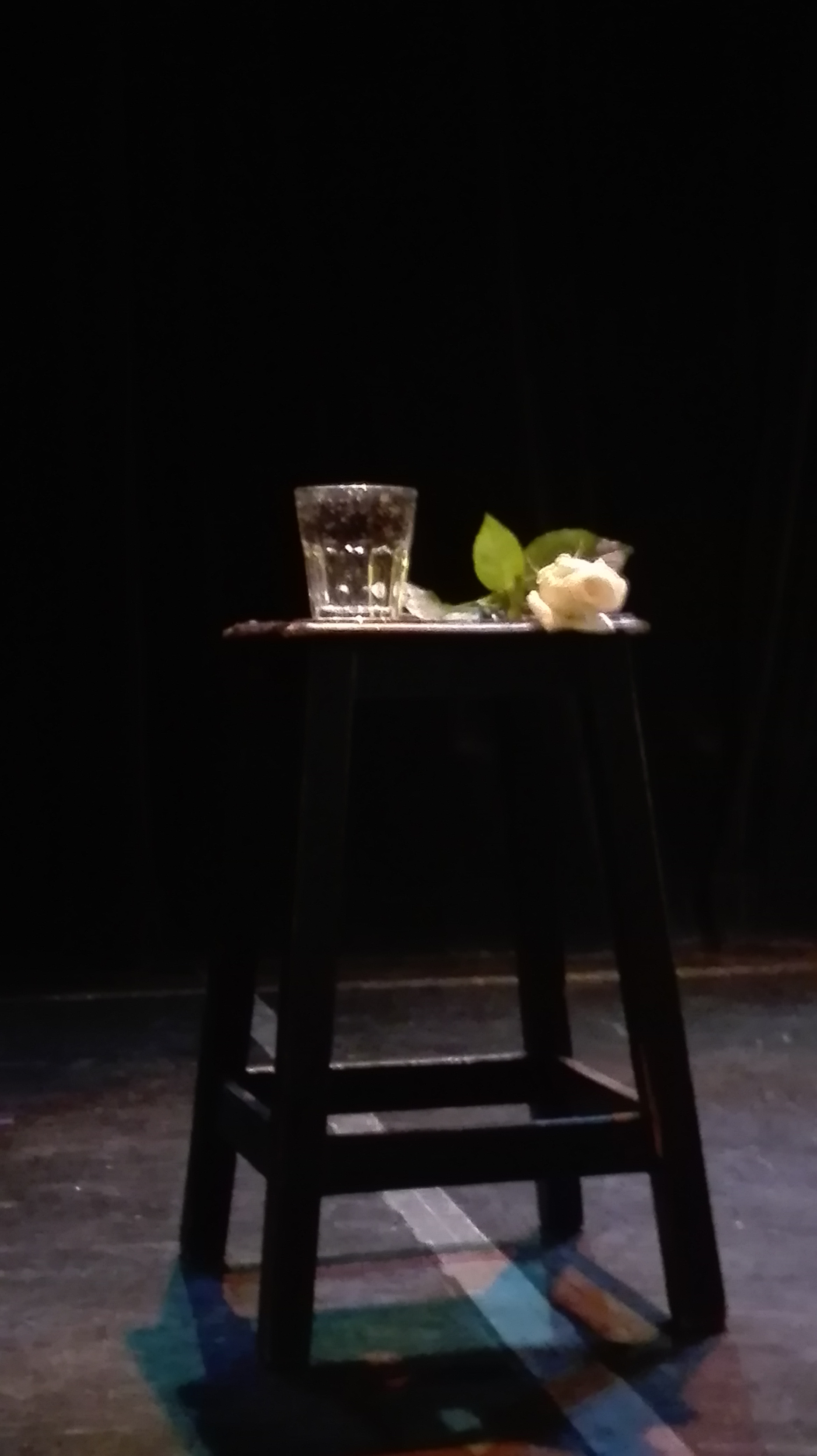 Photo de la pièce de théâtre La Fontaine en 10 leçons