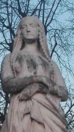 Statue de Sainte Geneviève_Jardin du Luxembourg