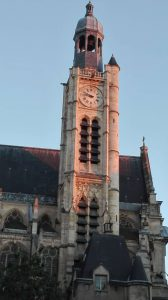 Clocher de St Etienne du Mont