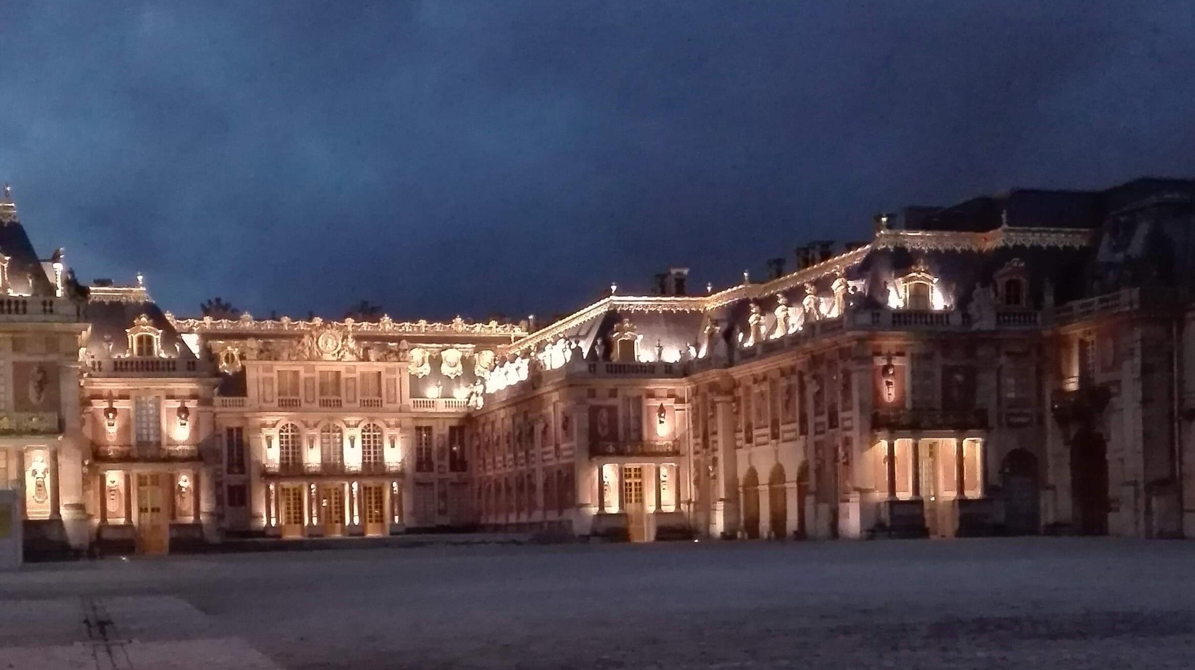 Chateau de Versailles de nuit