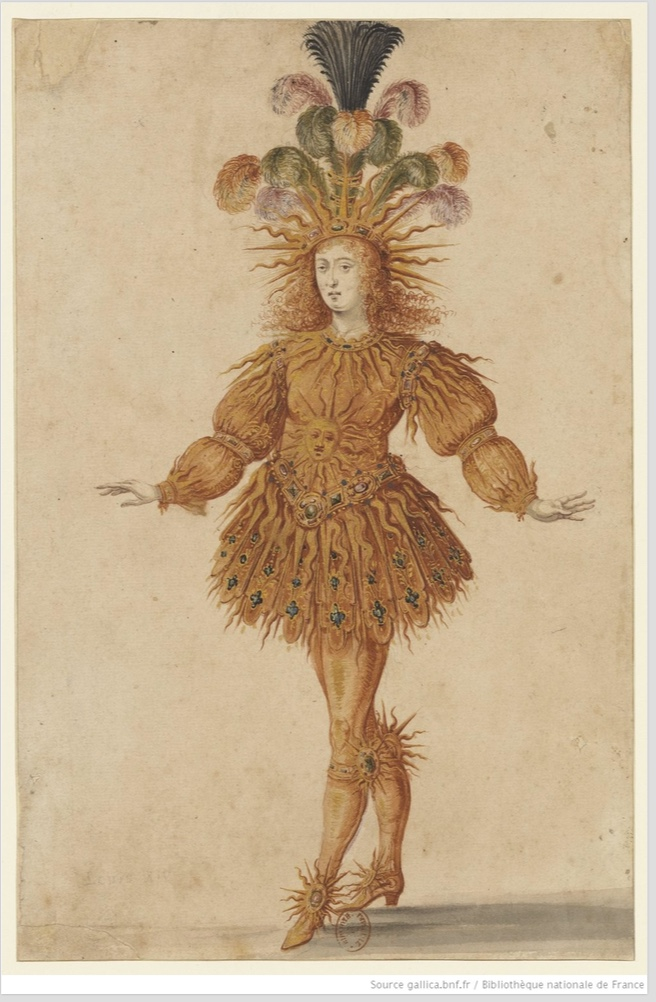 Louis XIV en soleil