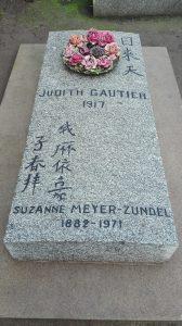 tombe de Judith Gautier