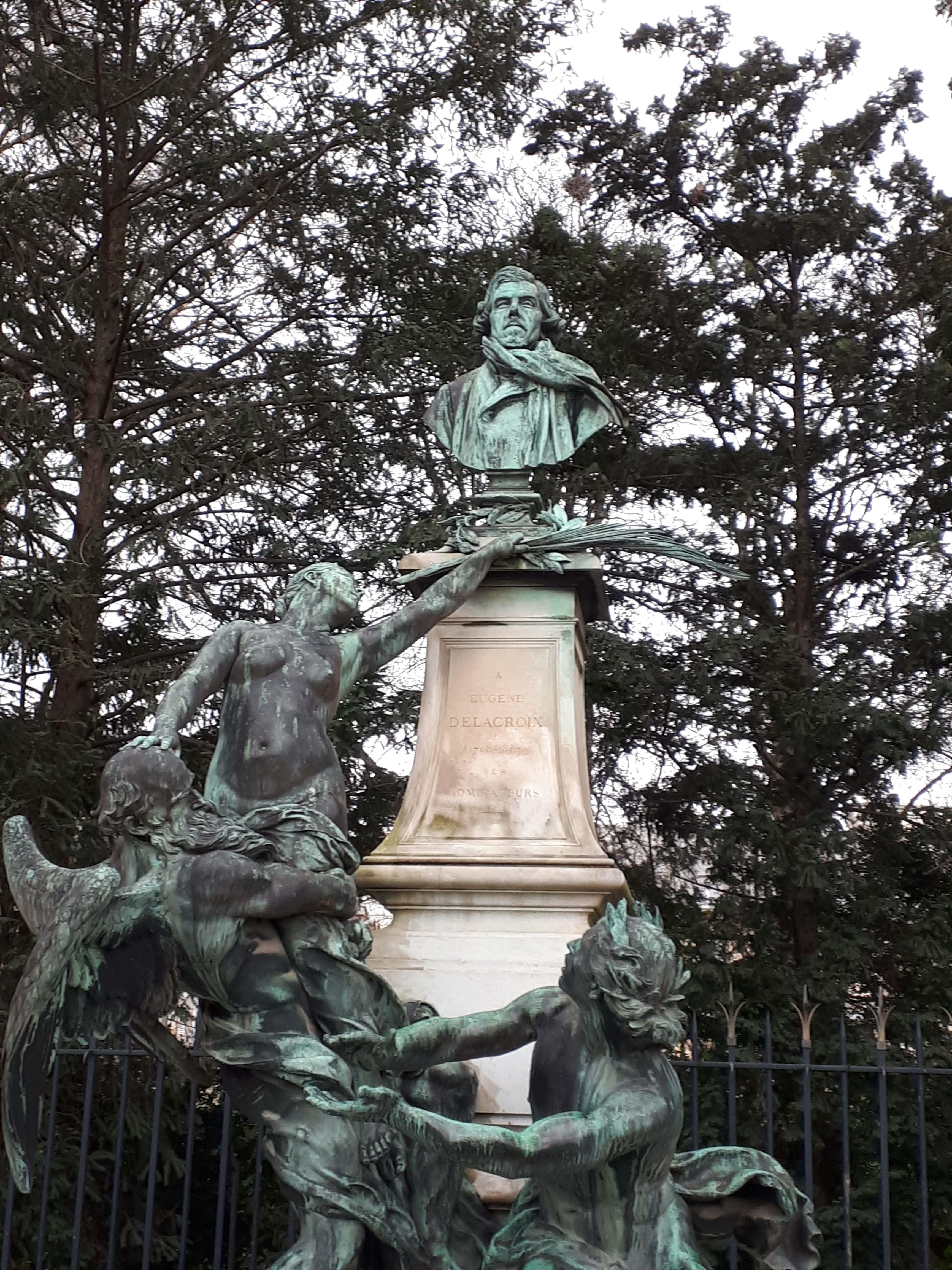 Fontaine Eugène Delacroix_Jardin du Luxembourg