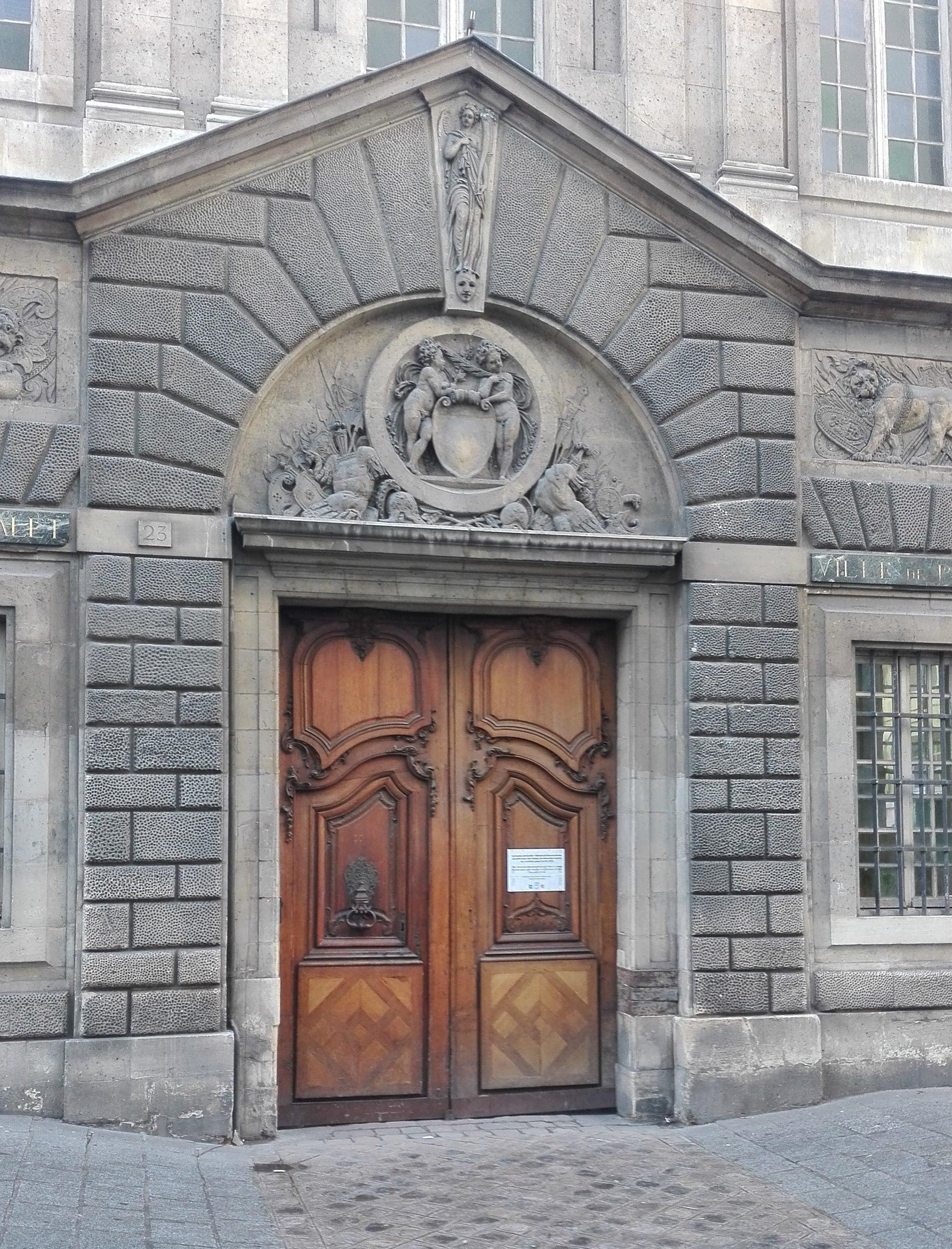 Porte d'entrée de Carnavalet Sévigné