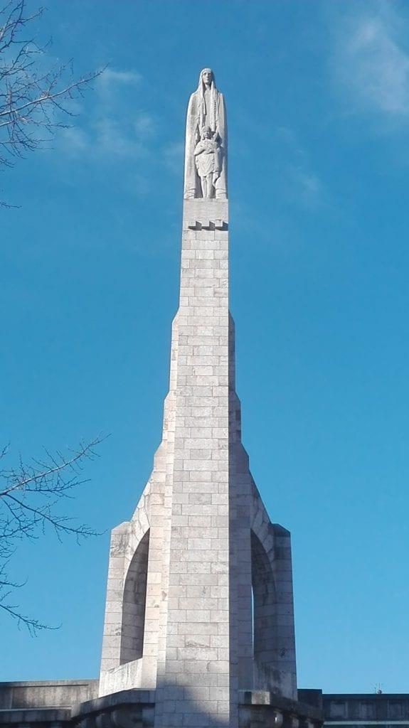 Sculpture Sainte Geneviève