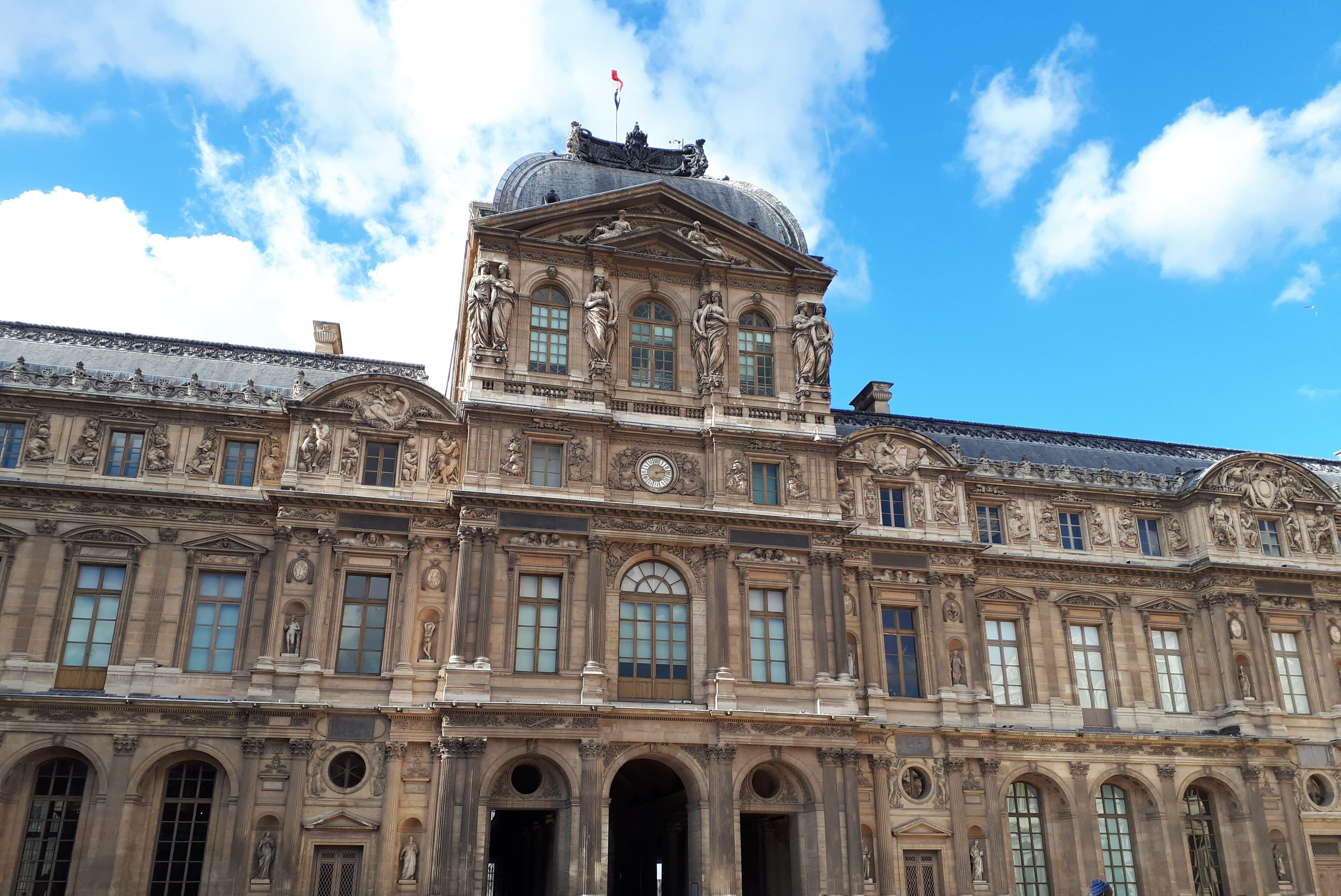 Cour carrée_Louvre