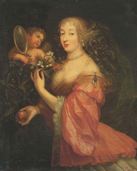 Portrait de La Grande Mademoiselle