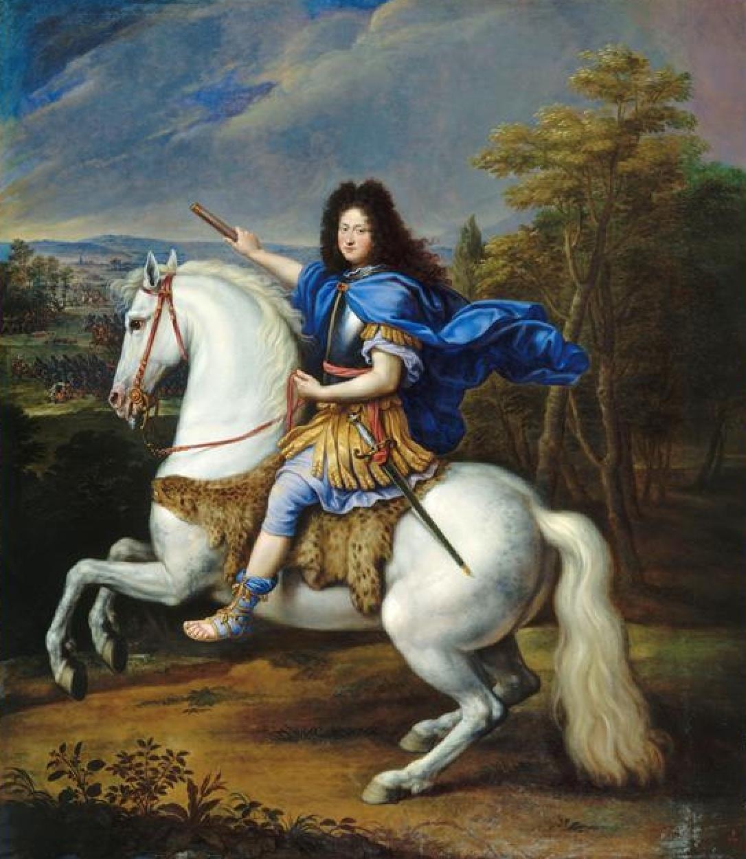 Portrait Philippe de France vêtu à la romaine