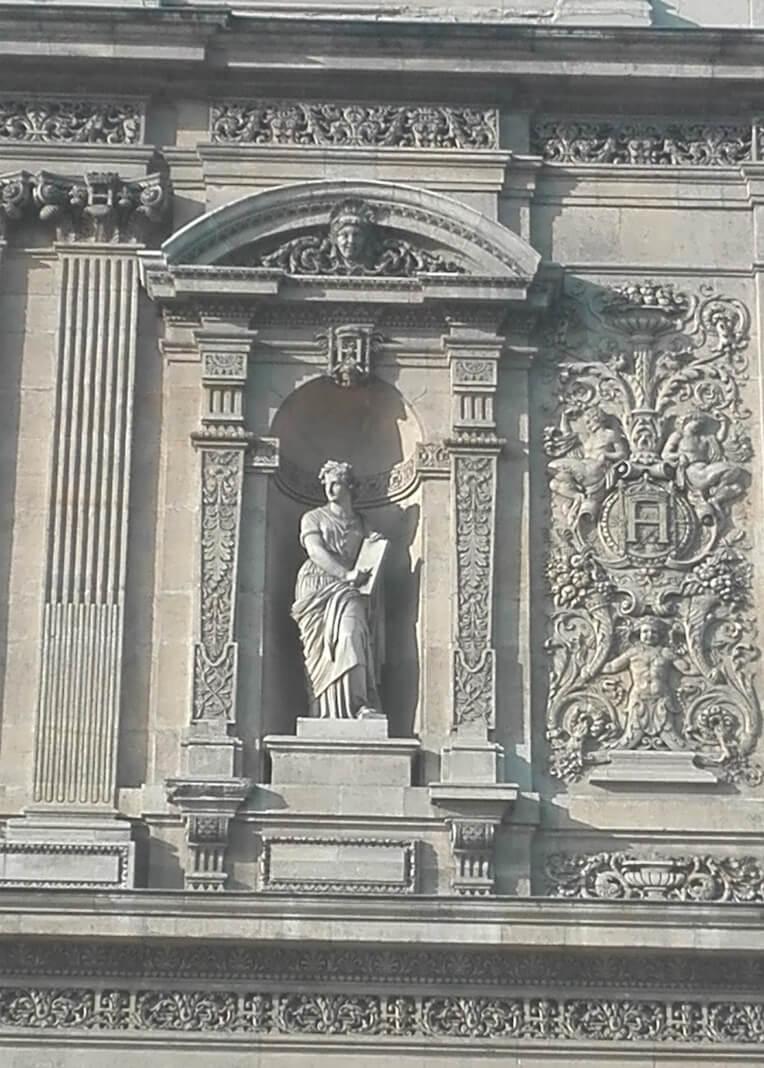 Détails façade sud_le louvre
