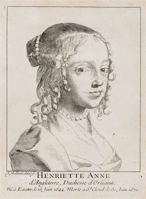 Gravure d'Henriette Claude Mellan