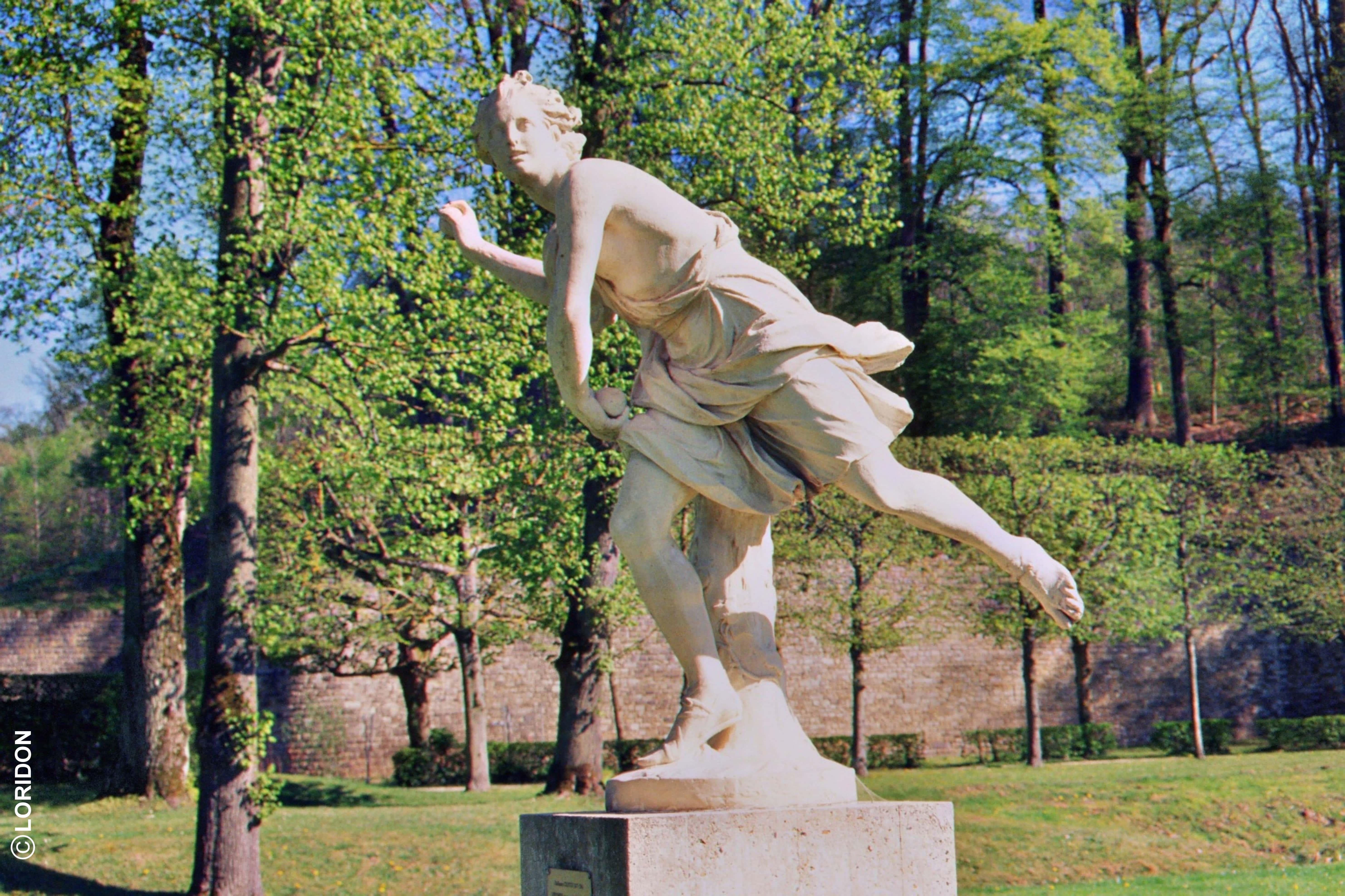 Sculpture_Domaine de Marly le roi
