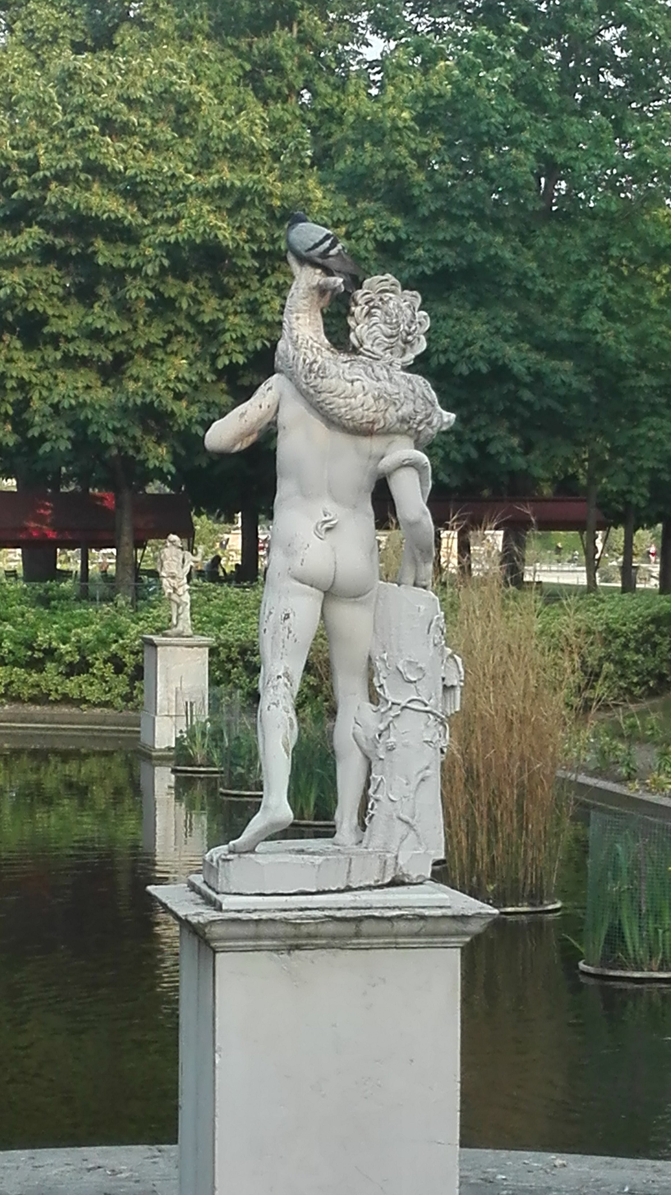Sculpture_Jardin des tuileries