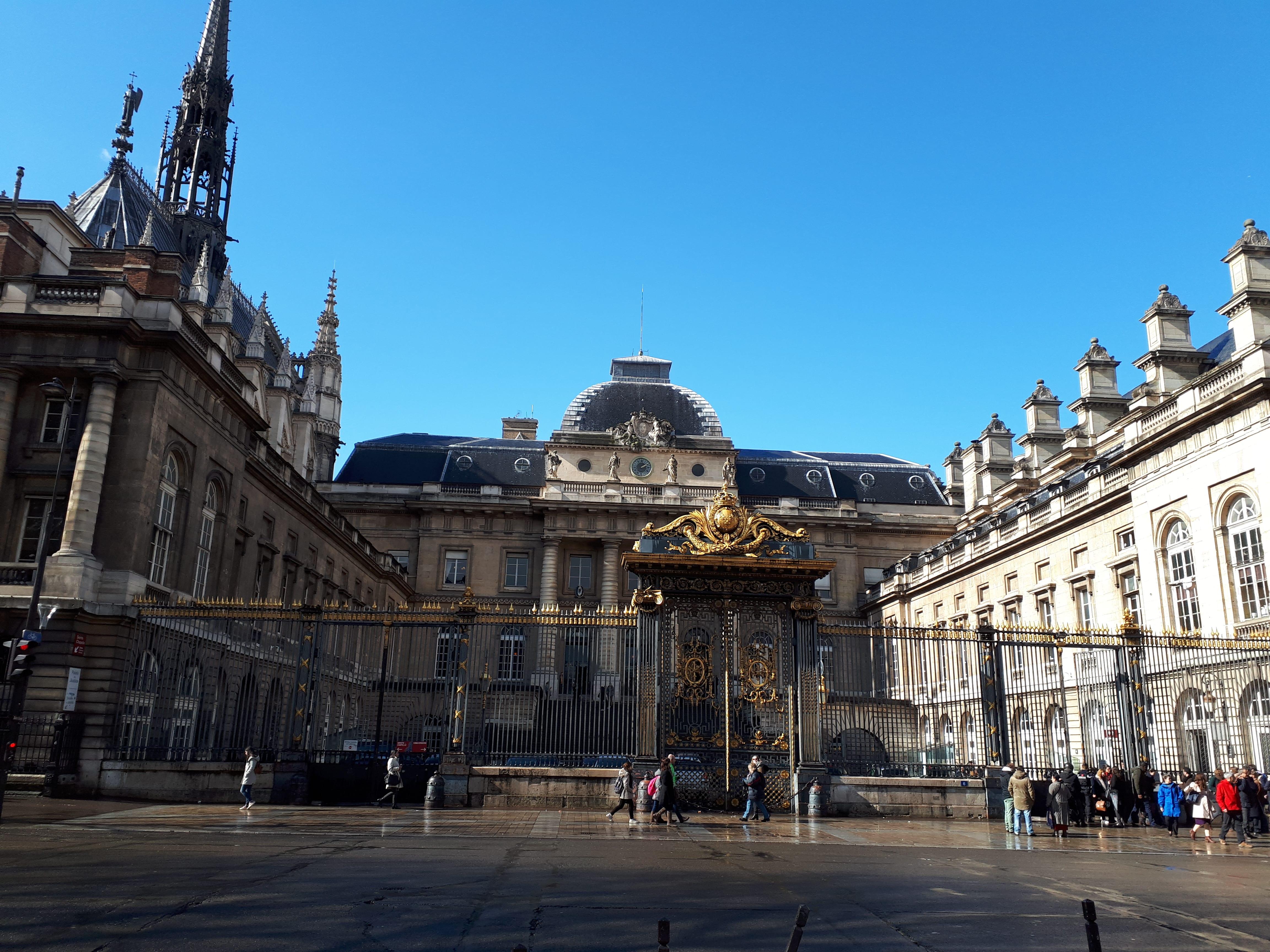 La Ste Chapelle et le Palais de Justice