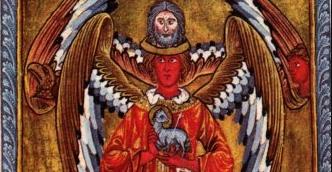 Vision d'Hildegarde de Bingen