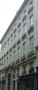 """immeuble """"Delécluze"""""""