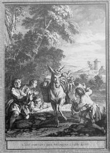 L'âne portant des reliques