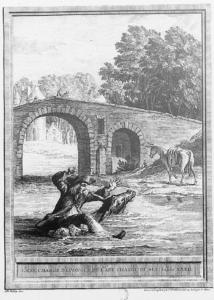 L'âne chargé d'éponges et l'âne chargé de sel