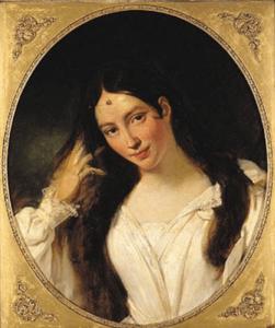 Maria Malibran en Desdémone. François Bouchot