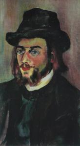 Portrait d'Erik Satie par Suzanne Valadon